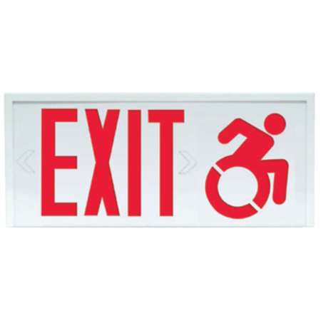 Catana® extruded aluminum exit w/DSA Accessibility